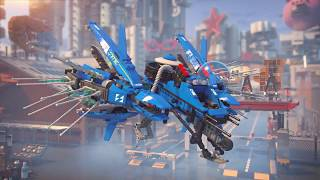 lightning jet lego ninjago movie 70614 product animation