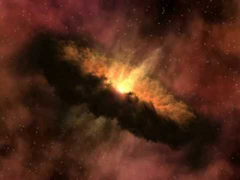 NASA, Genesis of a Comet animation, origin of comets