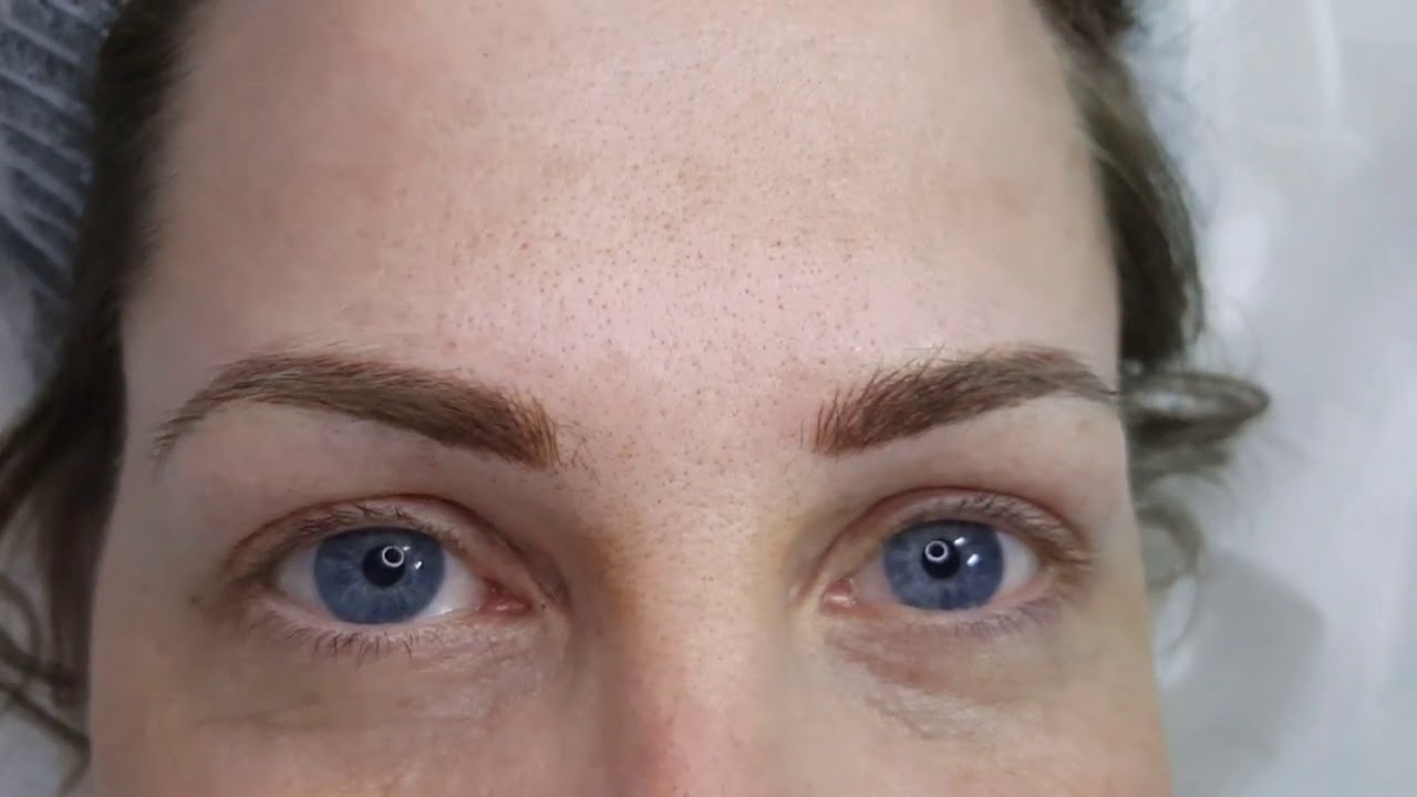Combination Eyebrows Microblading and Microshading PMU by El Truchan @ Perfect Definition