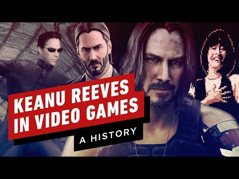 A History of Keanu Reeves in Video Games