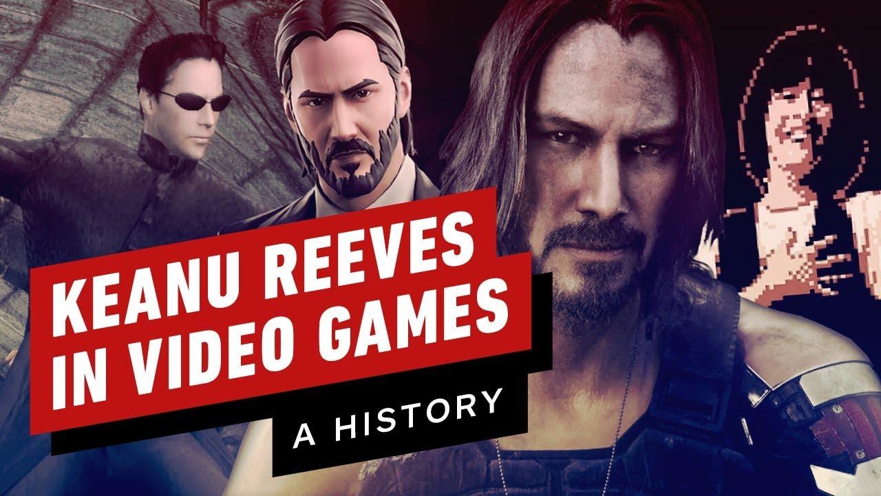 Uma história de Keanu Reeves em videogames + vídeo