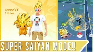 SUPER SAIYAN MODE GLITCH IN POKEMON GO! Weirdest New Glitch in Pokemon GO Update 0.75.0