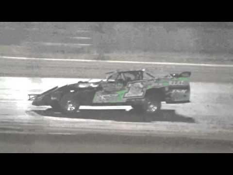 Ark La Tex speedway Modified A feature part 3 9/26/15