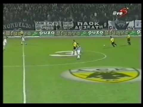 06.02.2002 QUARTER FINAL GREEK CUP P.A.O.K. - A.E.K. 0-4