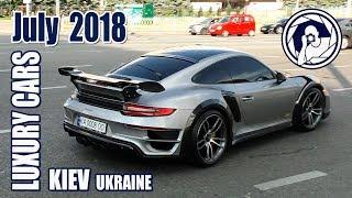 Luxury Cars in Kiev (07.2018) Porsche 911 TechArt GTStreet R