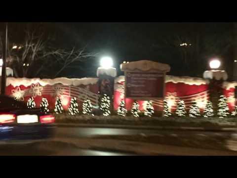 Gaylord Opryland Resort Nashville -Christmas Lights 2016