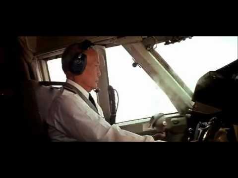 Боинг заходит на авианосец