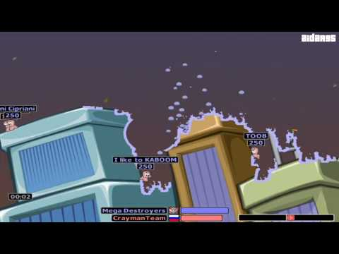 Worms Armageddon (PC) Online Gameplay (HD)