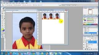 How to Create a Passport size Image By Photoshop (Bangla) HD