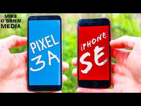 iPHONE SE (2020) vs PIXEL 3A [Best $400 Phone?] In-Depth Comparison