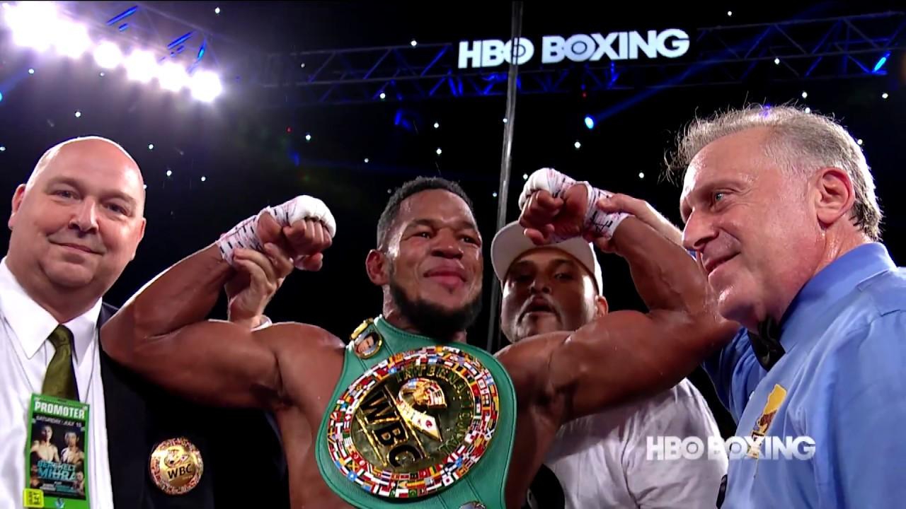 Joe Smith Jr vs Sullivan Barrera BAD Highlights HBO Boxing
