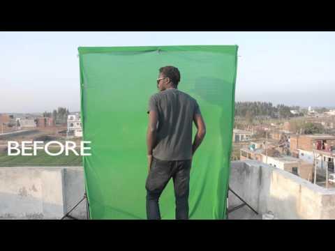 green screen compositing vfx #hitfilm#