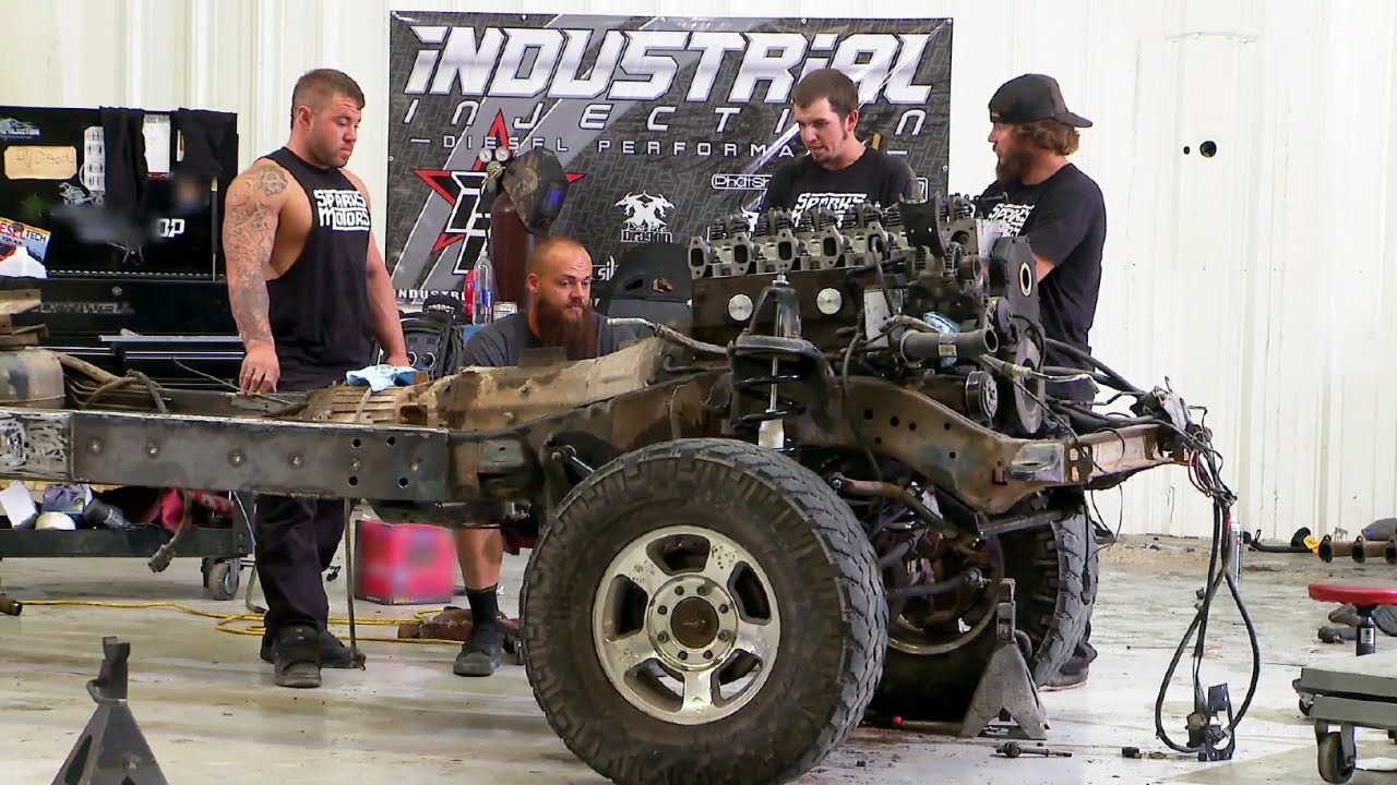 Diesel Brothers Cast >> Holy Grail Truck Suspension Upgrade - YouTube