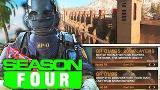 Download lagu Modern Warfare: NEW SECRET Weapon, Warzone Duos, & More SEASON 4 LEAKS!