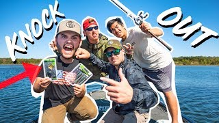 GOOGAN Ultimate KNOCKOUT Fishing CHALLENGE!