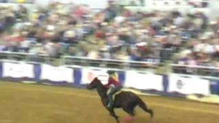 Tiany Schuster & Bound In Black February 4, 2012 PRCA Rodeo Lake Charles, Louisiana