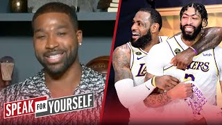 Tristan Thompson decides if AD is the best teammate LeBron's ever had | NBA | SPEAK FOR YOURSELF