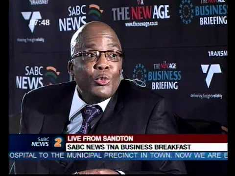Aaron Motsoaledi South Africa's Minister of Health