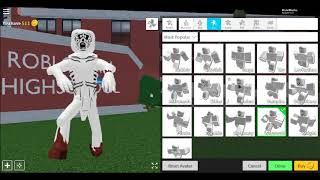 Comment faire SCP 096 Le gars timide ROBLOX (fr) Remake Robloxian High School