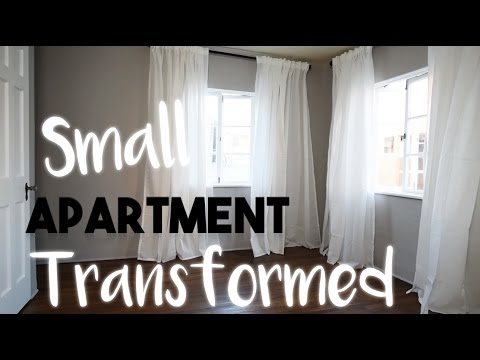 INTERIOR DESIGN: Transforming a Small Apartment Without Breaking the Bank | Our First Home!