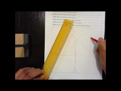 Constructing a Circumscribed Circle - South Dde SH - Geometry