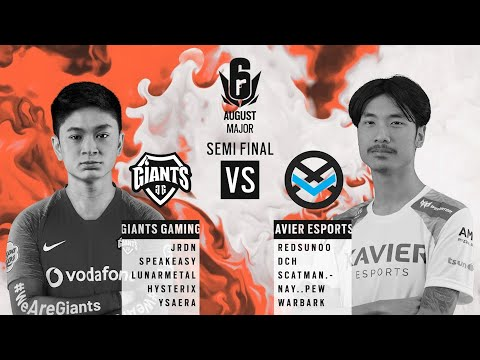 Giants Gaming vs Xavier Esports // APAC Six August 2020 Major – North Division Semi-Final