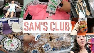 TOUR PELO SAM'S CLUB - ITENS DE DECORAÇÃO E ORGANIZAÇÃO/ ALIMENTAÇÃO/ LIMPEZA E VESTUÁRIO