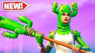 The New CACTUS Skin in Fortnite..
