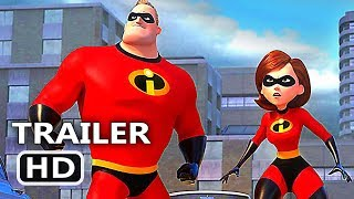 Incredibles 2 New Trailer (Pixar 2018 Animated Film)