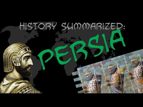 History Summarized: Ancient Persia