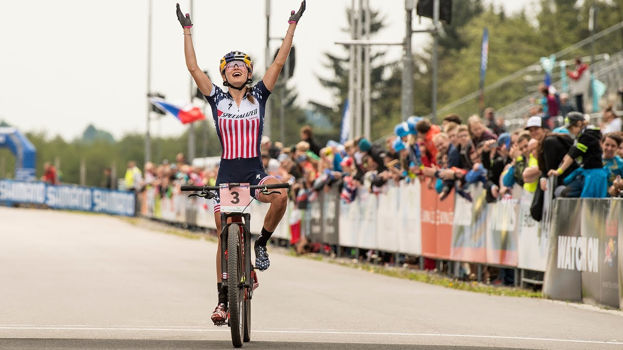 4d9dadc23bc Student Athlete Kate Courtney is Out to Rule XC Mountain Biking ...