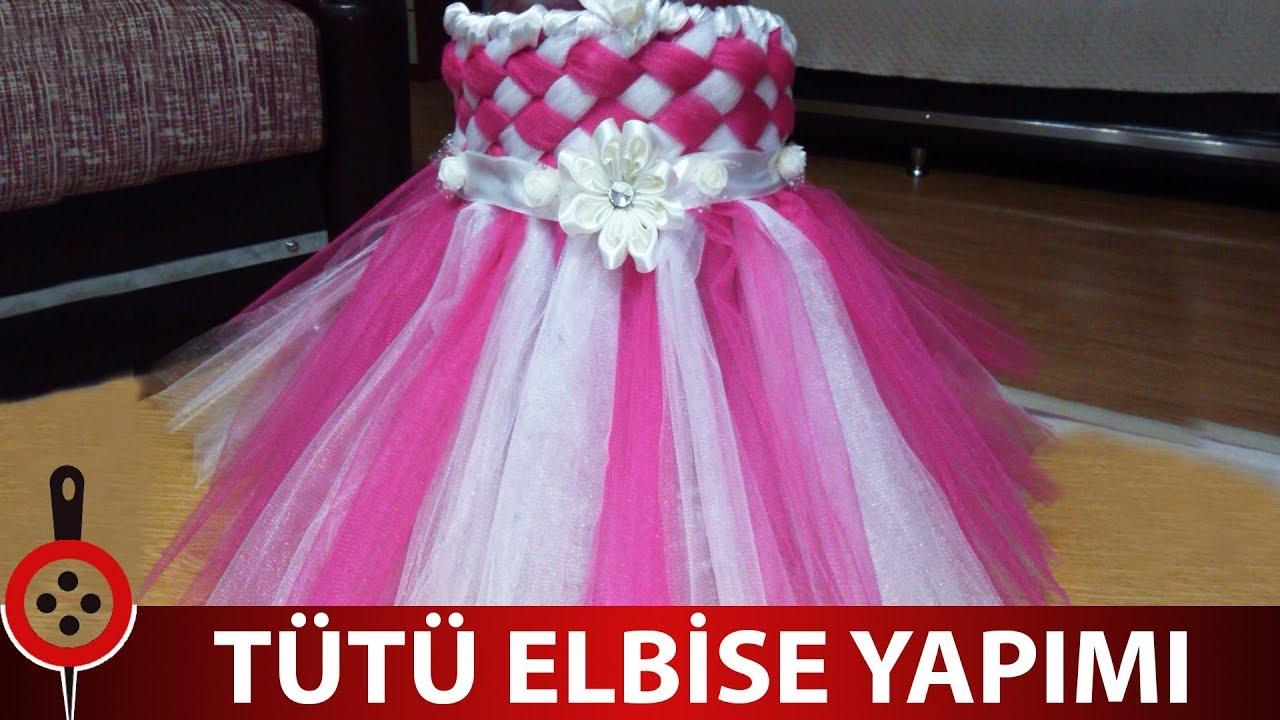 2437a5e8c7eef Tütü Elbise Yapımı - YouTube