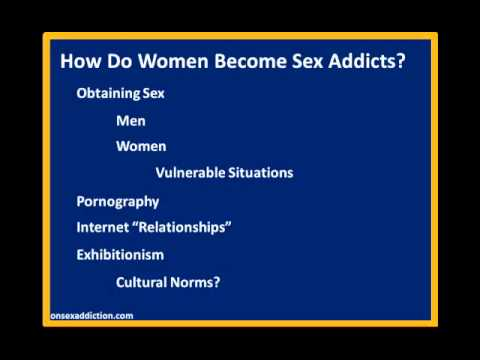 Sex addictions symptoms