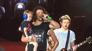 Harry Styles and children - expanded version
