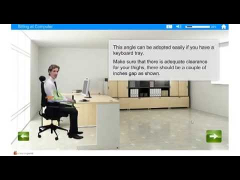 e-Office Safety: Ergonomics DSE e-Learning
