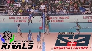 Alyssa Valdez for the win | Battle of the Rivals Game Highlight | July 16, 2017