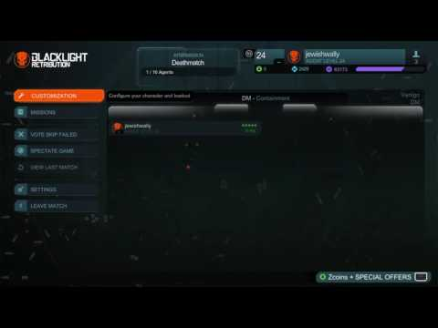 Blacklight Retribution multiplayer open lobby party 2