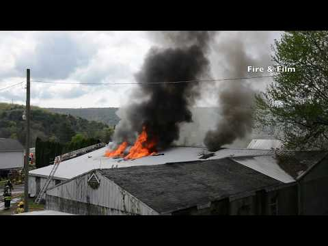 Fire destroys building - Hegins, PA - 05/07/2018