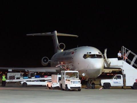Iran Aseman 727-228/Adv - Flight from Yazd Shahid Sadooghi (AZD) to Tehran Mehrabad (THR), Iran