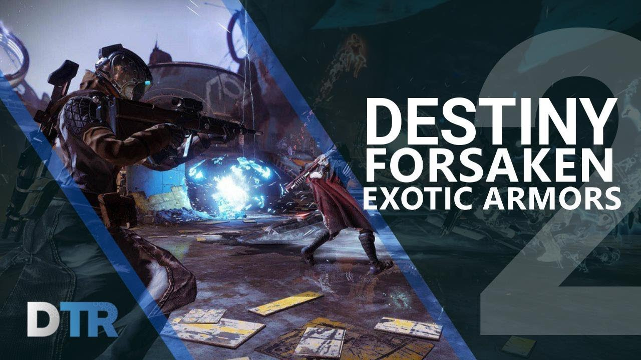 17a0ba4cb40 Destiny 2  All Forsaken Exotic Armors. DestinyTracker