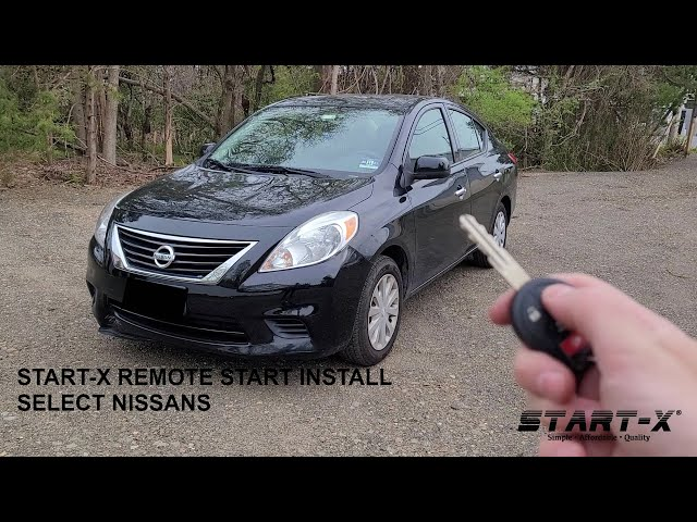 Stat-X Remote Start Install Select Nissan's