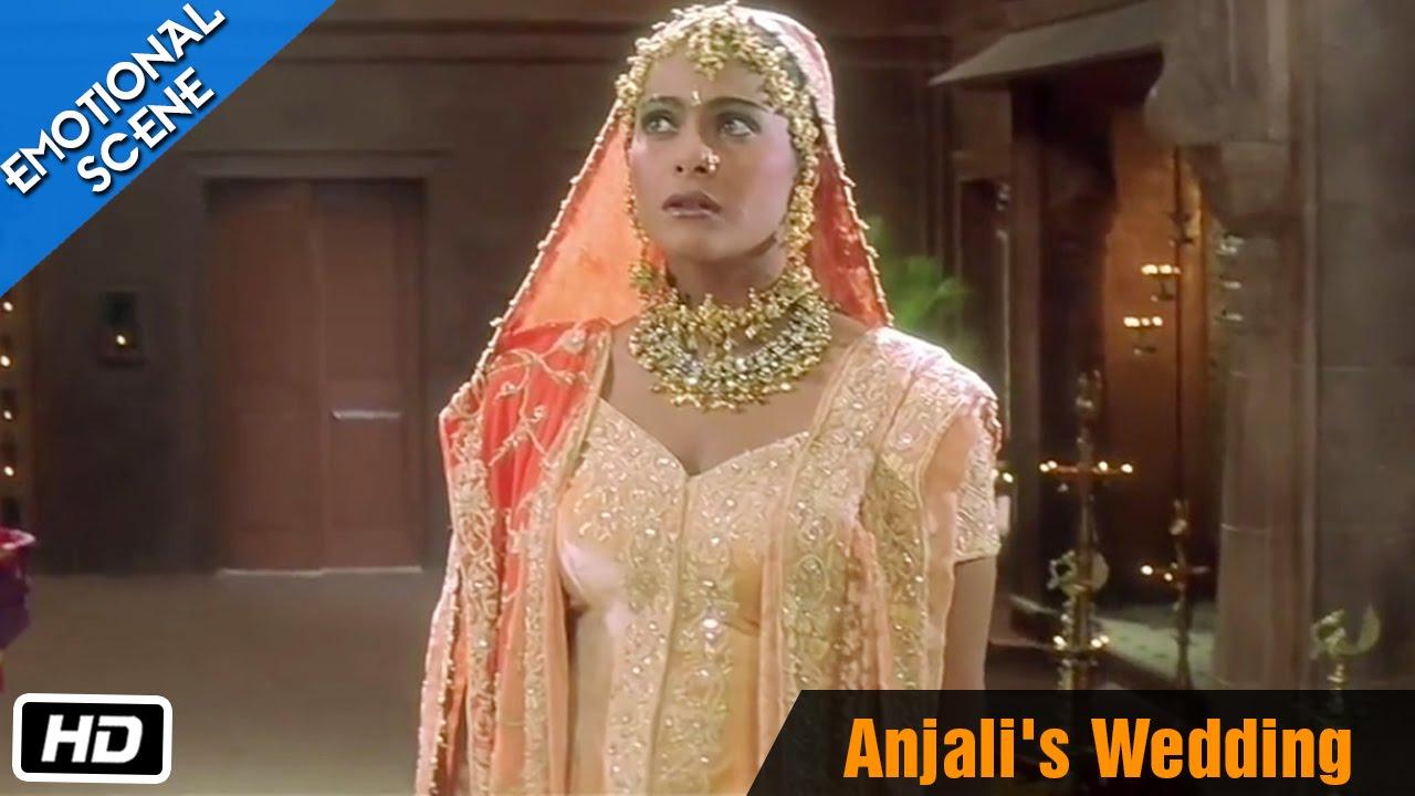 Anjali S Wedding Emotional Scene Kuch Kuch Hota Hai Shahrukh