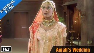anjalis wedding emotional scene kuch kuch hota hai shahrukh khan kajol