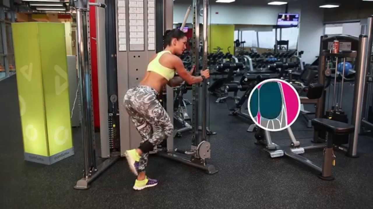 ejercicios para glúteos con poleas