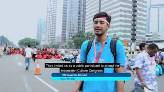 Ahmadi Muslims Clean Jakarta