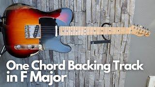 Single Chord Backing Trąck in F Major