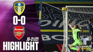 Highlights & Goals | Leeds United vs. Arsenal 0-0 | Telemundo Deportes