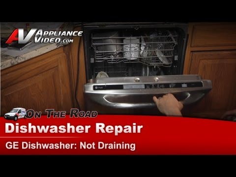 GE, Hotpoint, RCA - Dishwasher Repair - Not Draining - PDWT480P00SS