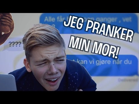 Jeg lurer MOR! | NORSK LYRICS PRANK