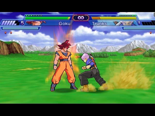 Goku SSJ GOD Shin Budokai 2 MOD By Brian318 - VidInfo